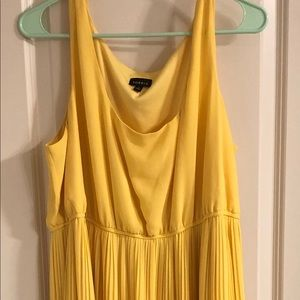 Yellow Torrid maxi dress